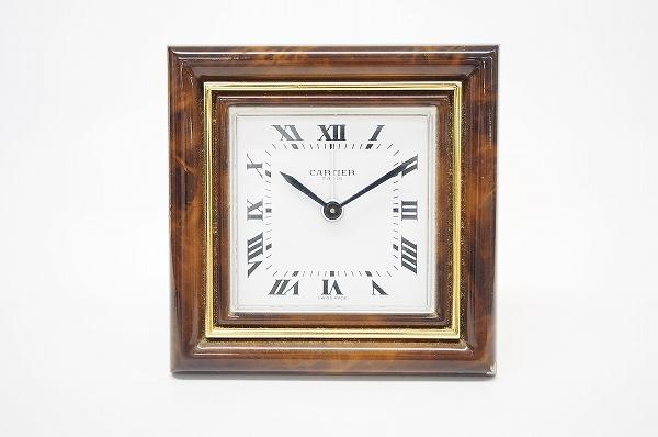 カルティエ 7503-00004アラーム付き置き時計