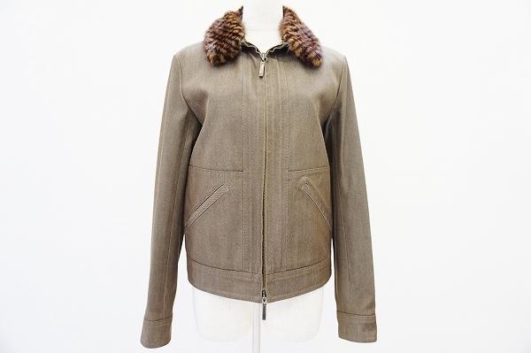 ルイヴィトン ハンガー付きミンクジャケット