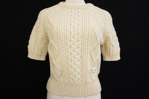 シャネル 半袖セーター