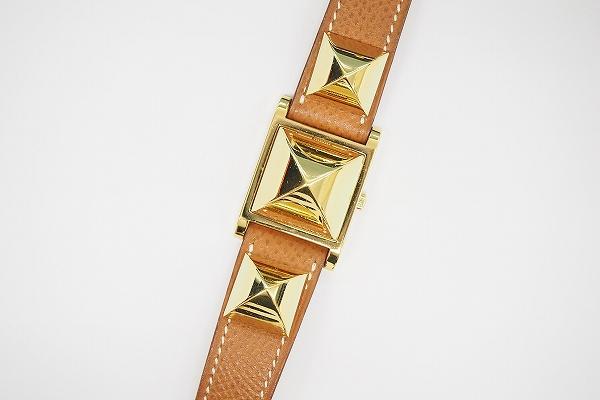 エルメス メドールピラミッド腕時計