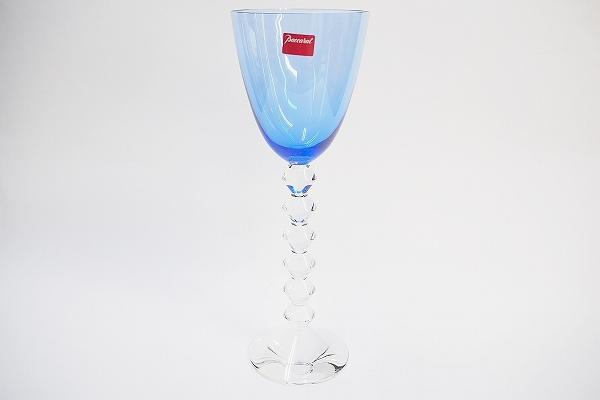 バカラ クリスタルベガブルーワイングラス