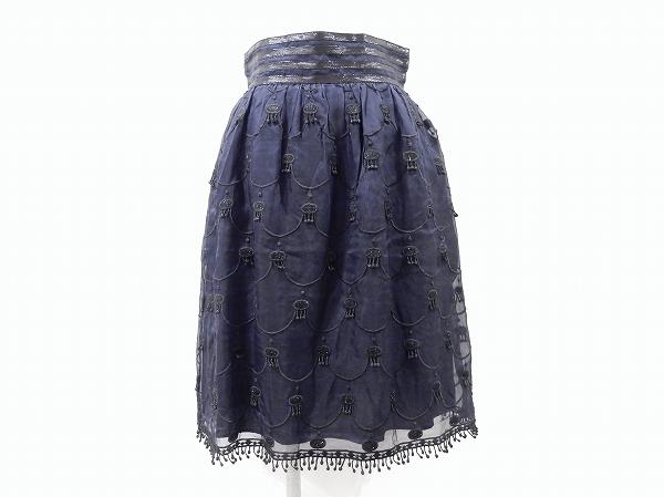 アナスイ 刺繍スカート