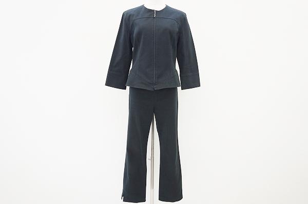 ミスアシダ ジップアップパンツスーツ