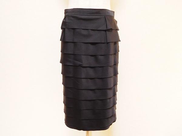 モガ フリルスリットタイトスカート