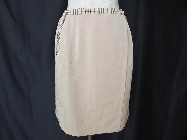 バーバリー チェックキュロットスカート