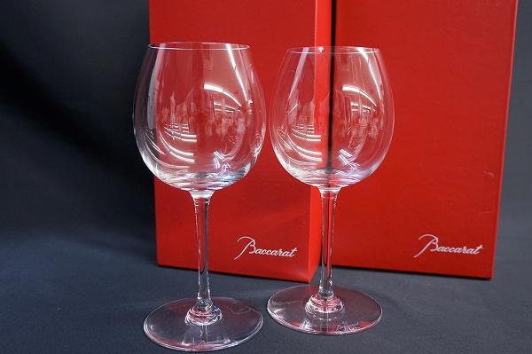 バカラ オノロジーブルゴーニュクリスタルワイングラス2客ペア