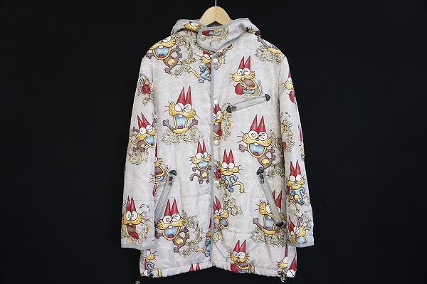 フィッチェドン小西 もーれつア太郎ニャロメフード付きコート