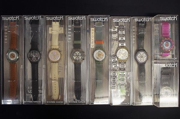スウォッチ クロノグラフスクーバ腕時計9点セット