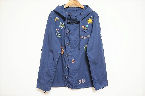 ドラッグストアーズ 刺繍フード付きジャケット