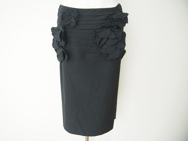 キソノイオ 花柄スカート