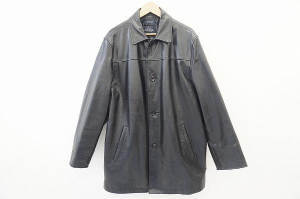 ノーティカ レザー中綿ジャケットコート