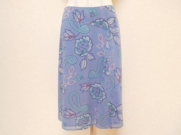 ローラアシュレイ花柄スカート