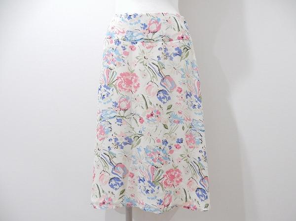 ローラアシュレイ 花柄スカート