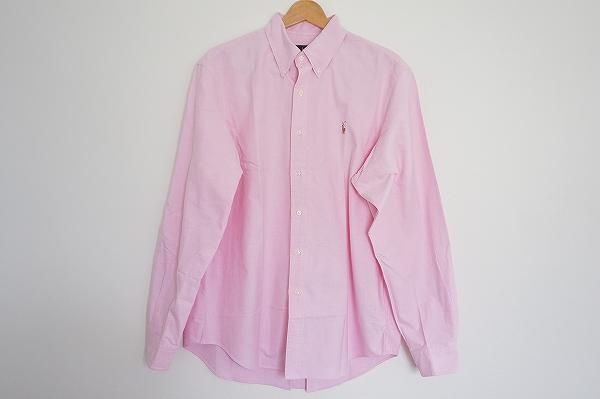 ラルフローレン ボタンダウンコットンシャツ