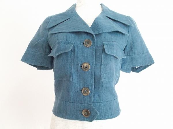 ミッソーニ 麻混半袖ジャケット