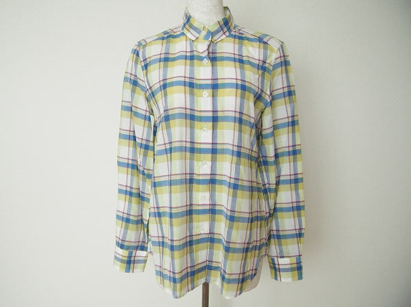 ロペ チェックシャツ