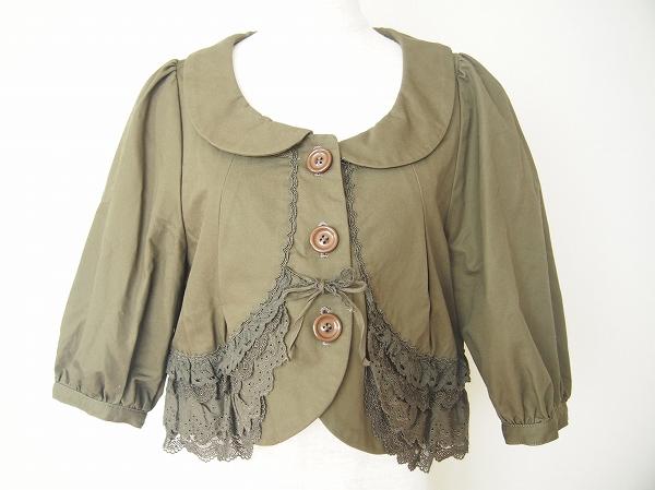 フランシュリッペ 刺繍リボンジャケット