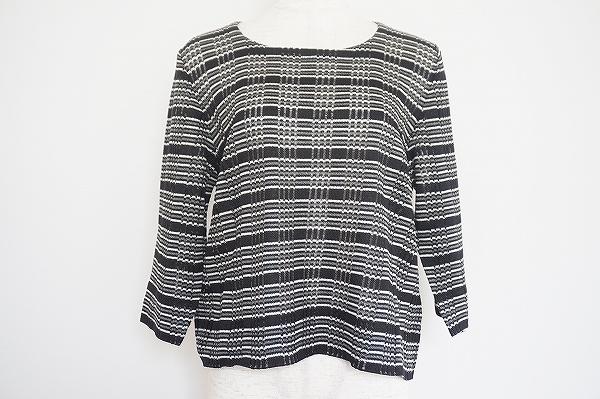 サイトウトヨコ 七分袖セーター