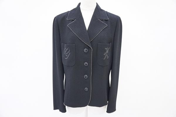 イタリヤ ラメラインストーンジャケット