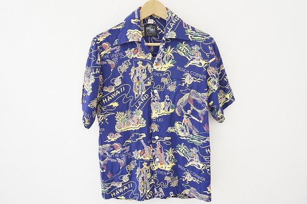 コナベイハワイ 半袖アロハシャツ