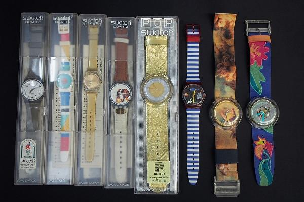スウォッチ クオーツ腕時計 8点セット