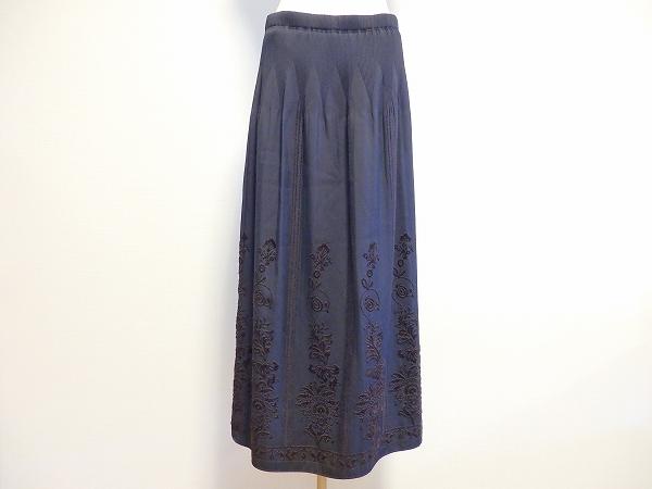カルヴェン 刺繍スカート