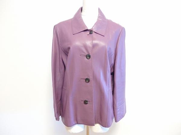 レリアン 羊革ジャケット