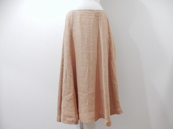 マックスマーラ 麻ステッチスカート