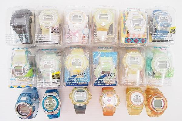 カシオ BABY-Gジャンク腕時計18点