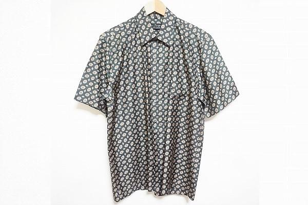ジムトンプソン シルク半袖シャツ