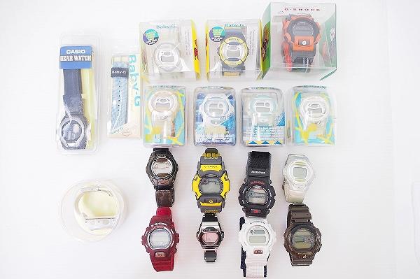 カシオ BABY-GG-SHOCKジャンク腕時計17点セット