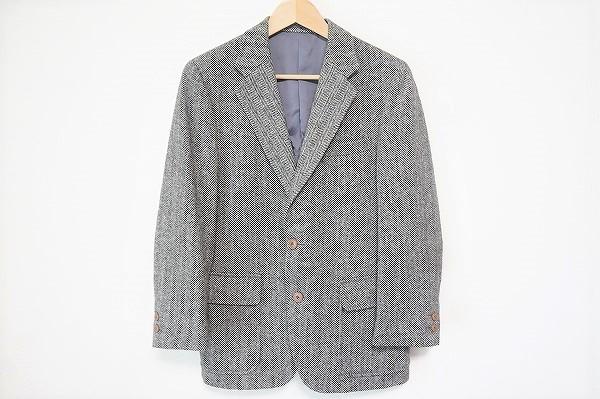 ジェイプレス シングルヘリンボーンジャケット