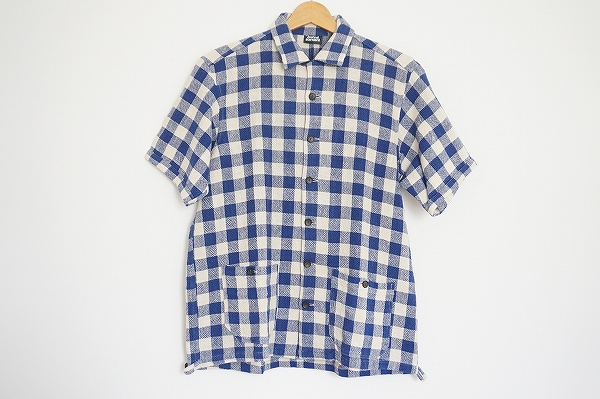 ジャーナルスタンダード 半袖チェックシャツ