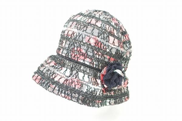 アトリエサガン 透かし帽子