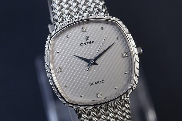 シーマ 4PD200-1ステンレススチールクオーツ腕時計