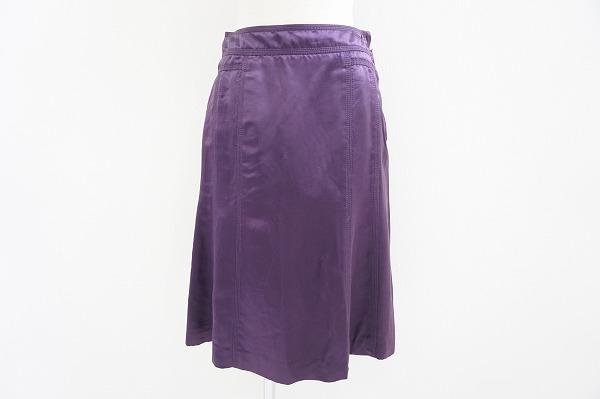ルイヴィトン シルク混スカート