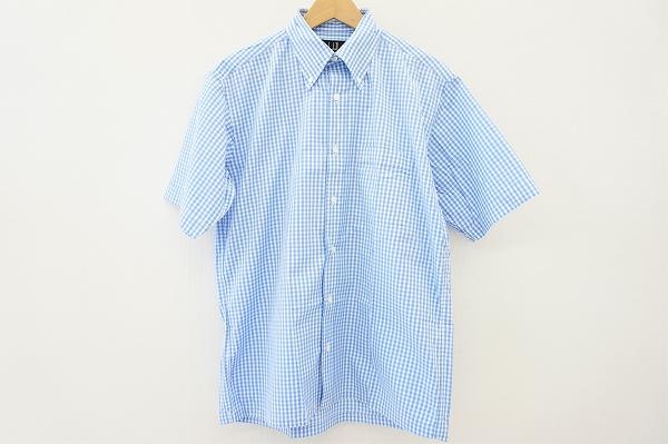 ダンヒル ギンガムチェック半袖シャツ