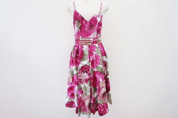 レナートヌッチ 花柄ワンピースドレス