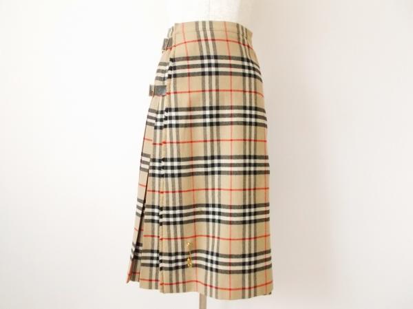 バーバリー チェック巻きスカート