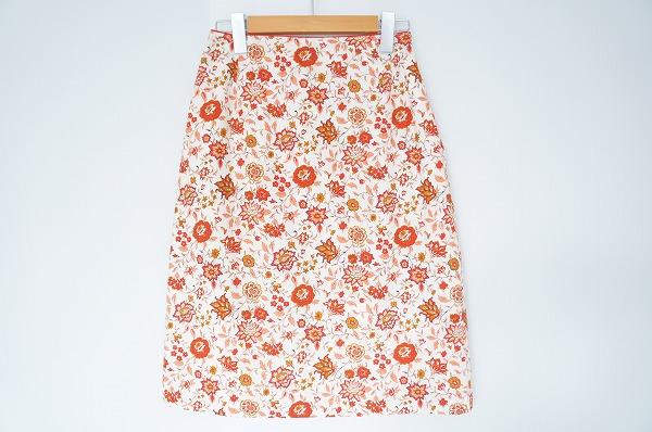 エフデ 花柄スカート