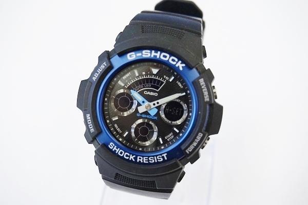 ジーショック AW-591クォーツ腕時計