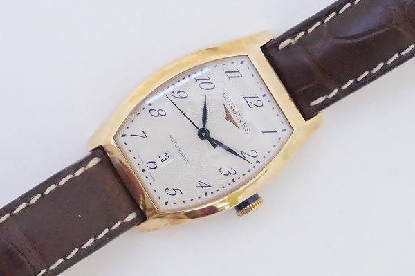 ロンジン エヴィデンツァ12.142.8アリゲーター腕時計