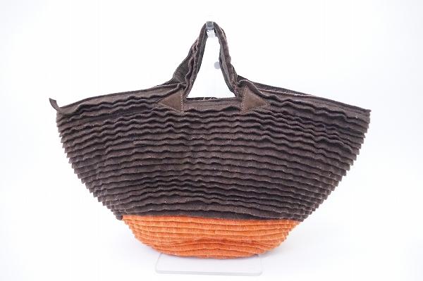 カテリーナベルティーニ レザーハンドバッグ