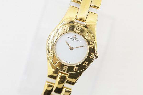 ボームアンドメルシエ 5261SSクオーツ腕時計