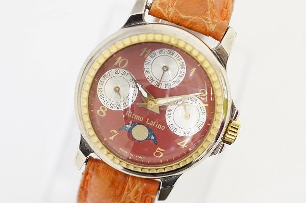 リトモラティーノ トリプルカレンダームーンフェイズ腕時計
