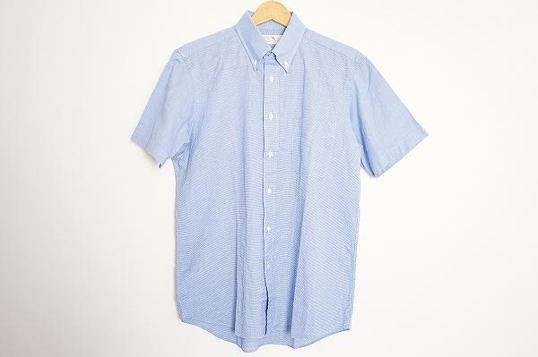 メーカーズシャツカマクラ コットン半袖シャツ