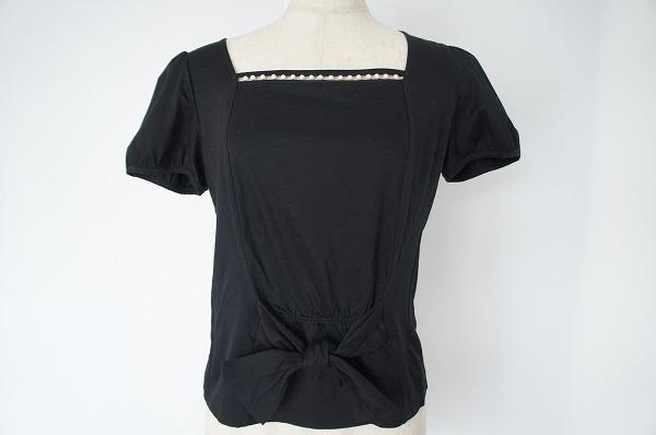 フランコフェラーロ 半袖ビーズTシャツ