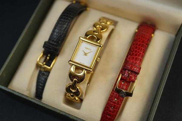 グッチ 1800Lチェンジベルトクオーツ腕時計