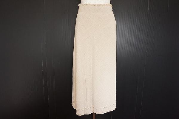 プランテーション 麻混スカート