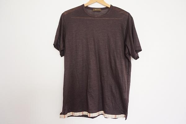 ワイズフォーメン 半袖リネンTシャツ